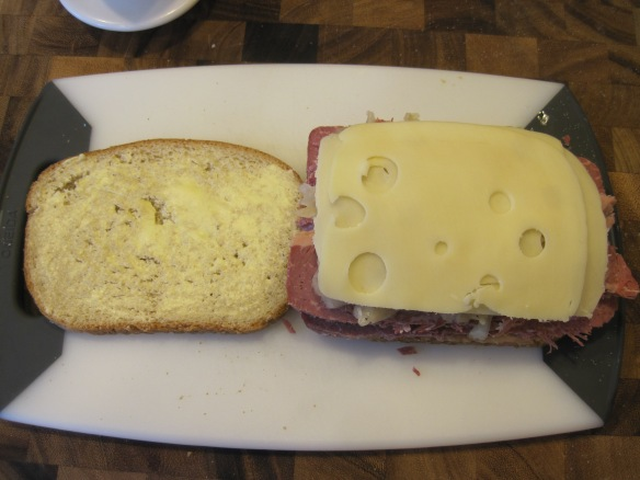 "Here's a little thing: when I was a kid I called deli American ""Holy Cheese"" because it had tiny holes and it was delicious.  But I hated Swiss because the holes were too big.  I was a picky little sh*t"