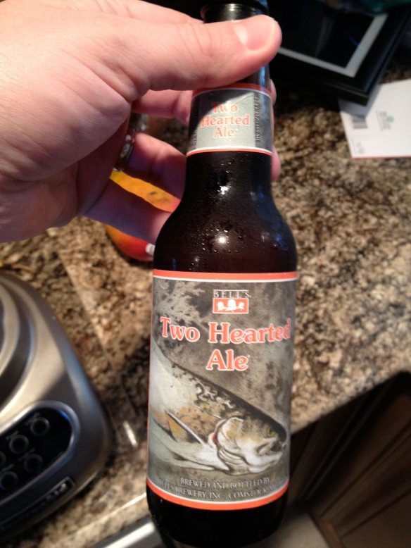 Bells beer.  Tough to find outside of michigan but available in pretty much every grocery store around Naples.  Not a huge fan of the Oberon, but the Two Hearted Ale is a top 10 beer for me