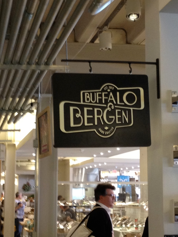 Every food stand had a cool name and ornate signage.  In Philly all of the restaurants look like this, but you get to Reading Terminal market and most of the signage is handwritten on the bottom of a previously used paper plate.  I'm exaggerating, but the truth isn't too far off