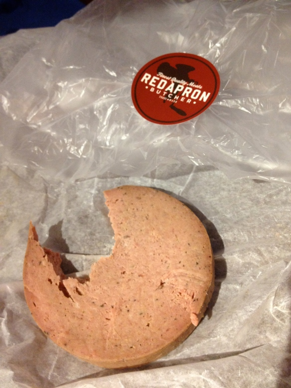 A Jack Ryan favorite, and also one of mine.  I have been loudly mocked by sassy deli counter workers twice in my life when ordering liverwurst, and my fear of that experience keeps me from ordering it more than once or twice a year.  Soooo, yeah, I fully believe mocking and humiliation can lead to better health