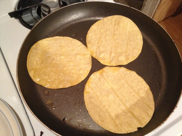 Not much to this one, I guess I wanted to point out how many rounds of tortillas I had to heat