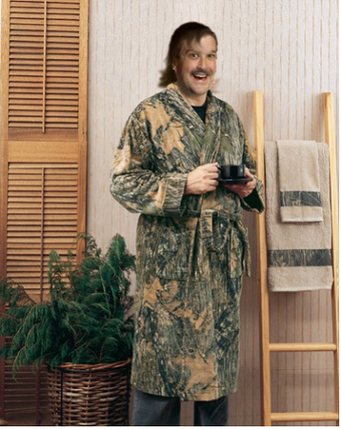 The original was an equally creepy fellow enjoyign his morning coffee.  An absolutely seamless merging of my awful current hair and a mustache, a combo I haven't had the courage to attempt